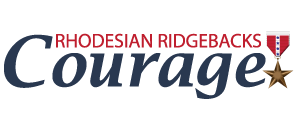 Courage Rhodesian Ridgebacks Logo